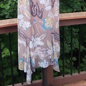 Kenzie 12 Sleeveless Flutter Dress Like New